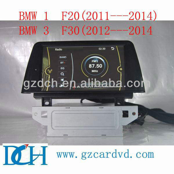 2 din dvd do carro para BMW 1 F20 (2011---2014) BMW 3 F30 (2012---2014) WS-8840
