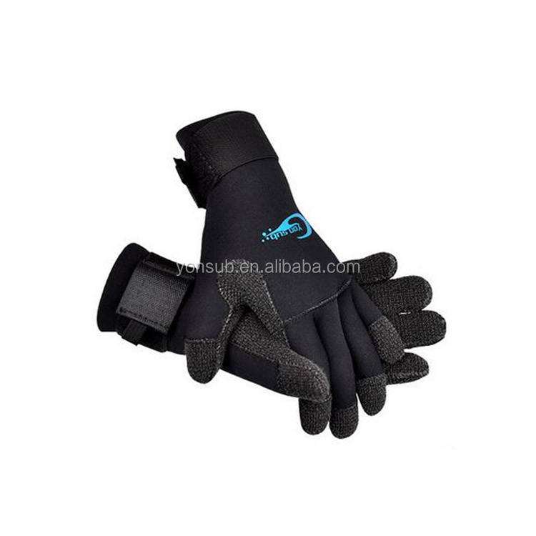 3mm neoprene diving gloves