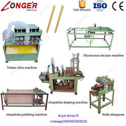 Factory Supply CE Approved Disposable Wood Chopsticks Making Machine