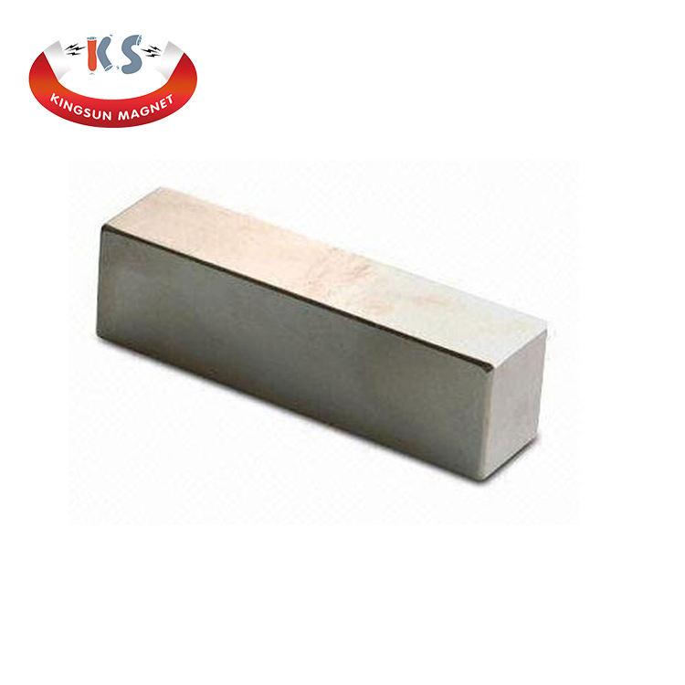 Rectangular Bar Neodymium Magnet 3.93 x .39 x .12 Inches Pull 10 lbs