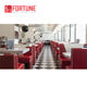 High Gloss American Diner Furniture With 4 Seaters