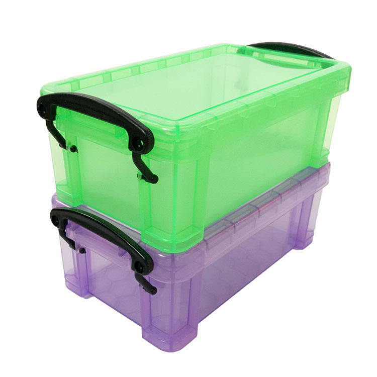 ) 저 (Low) Price Mini Rectangle Clear Plastic Storage Container