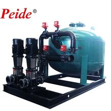 High flow sand filter water treatment