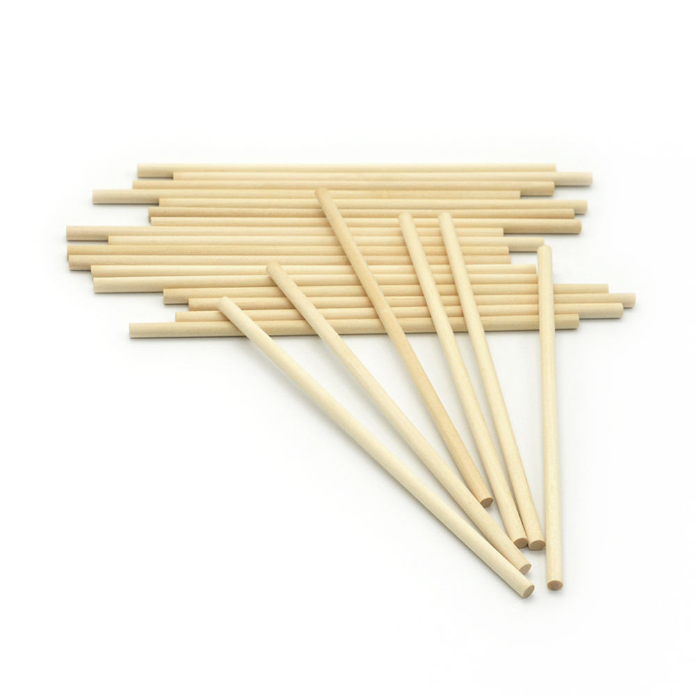 Wooden dowel rods China Factory Direct Wholesale Round Wood Rod