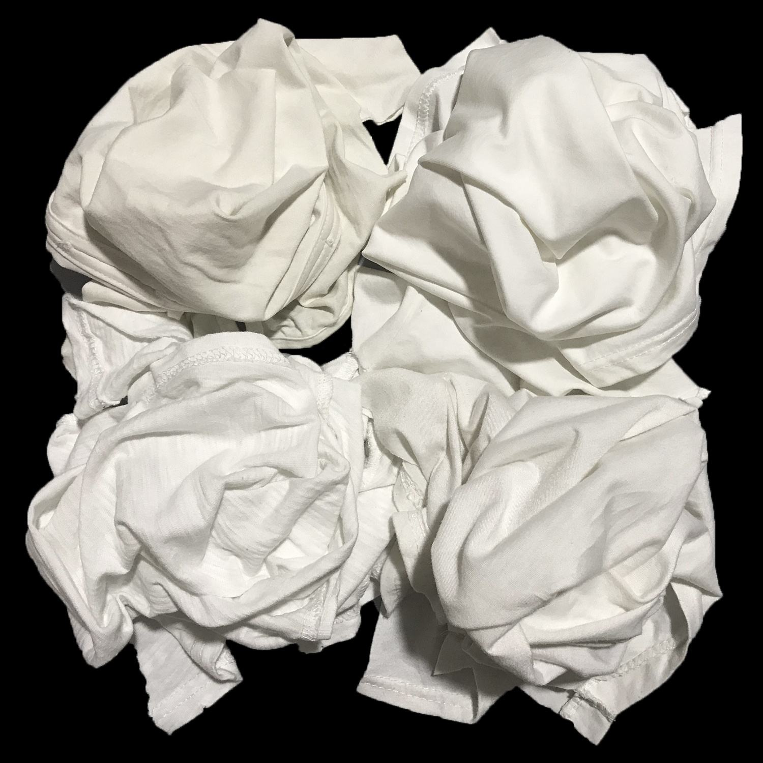 white industrial cotton wiping rags for selling in USA