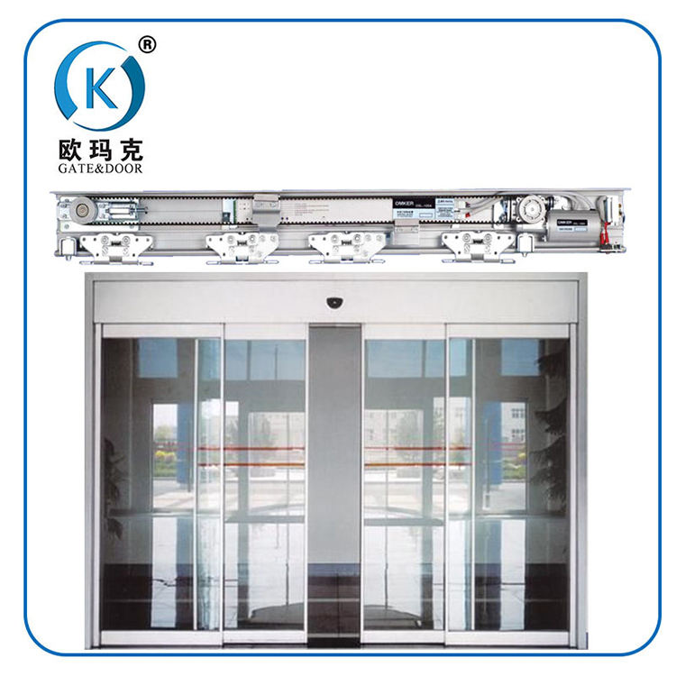 Sliding Type Entrance System For Hotel Glass Door