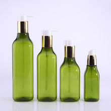 Square bottom 90ml 200ml 250ml 300ml 400ml PET shampoo bottle