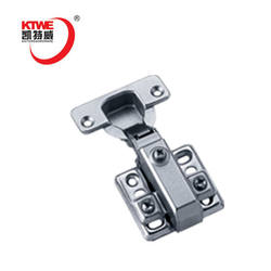 Hydraulic buffering soft close cabinet hinges