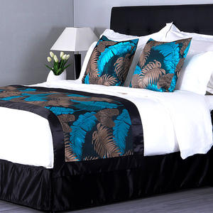 hotel bed runner for queen size bed