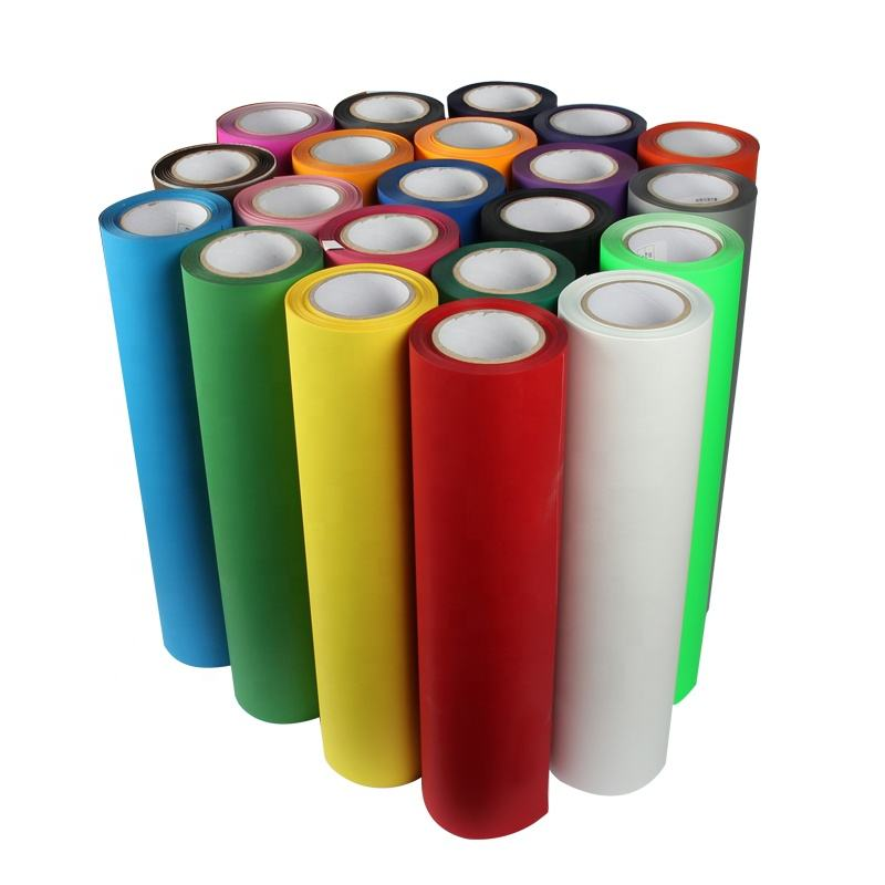 Kenteer wholesale korea quality flex htv textil rolls pu heat transfer vinyl for clothing t-shirt