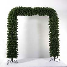 New Design Promotional Pvc Artificial Christmas Wreath / Garland