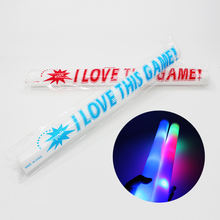 Wholesale Party Supplies Christmas Lights LED Stick&Glow In The Dark Stick&Cheap Cheering Foam Hand