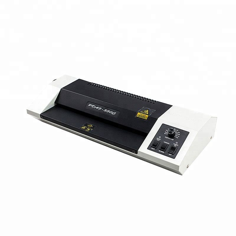 PVC ID Card A4 Flim iron Pouch laminating machine (WDPDA3-330C)