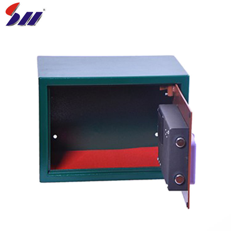 High quality expensive high-speed DSP chip valuable biometric fingerprint safe lock box