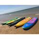 Clear Coated Epoxy Stand Up Paddle Board/Stand Up Paddleboards with Carbon Fiber Paddle