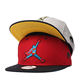 Factory make custom high quality flat brim snapback cap two tone hat snapback