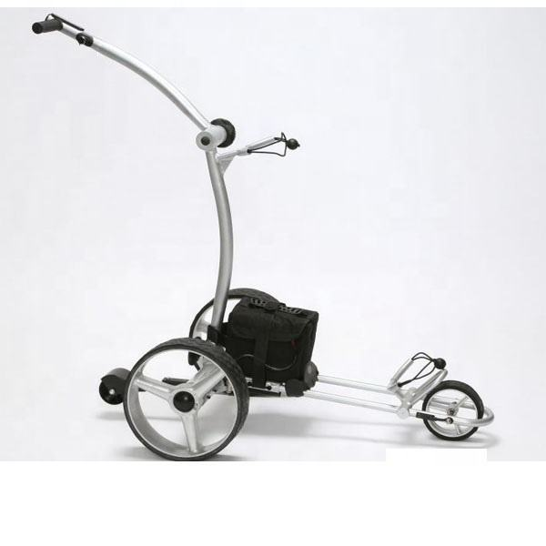 3 Wheels Golf caddy with long battery holder