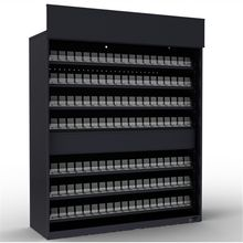wholesale metal cigarette display cabinet cigarette rack with custom service