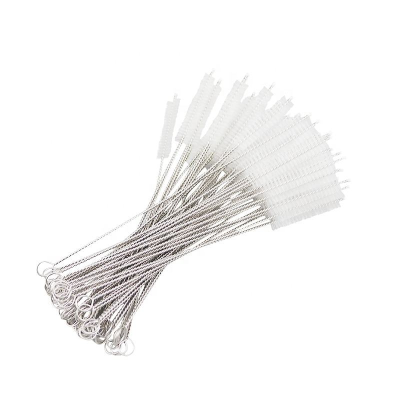 East and West Straw Cleaning Brush for reusable straws, baby sippy cup, tea pot spout etc