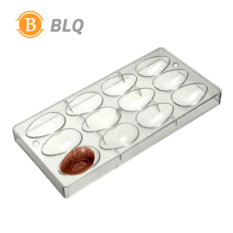 Custom Round Hard Plastic Chocolate Mold