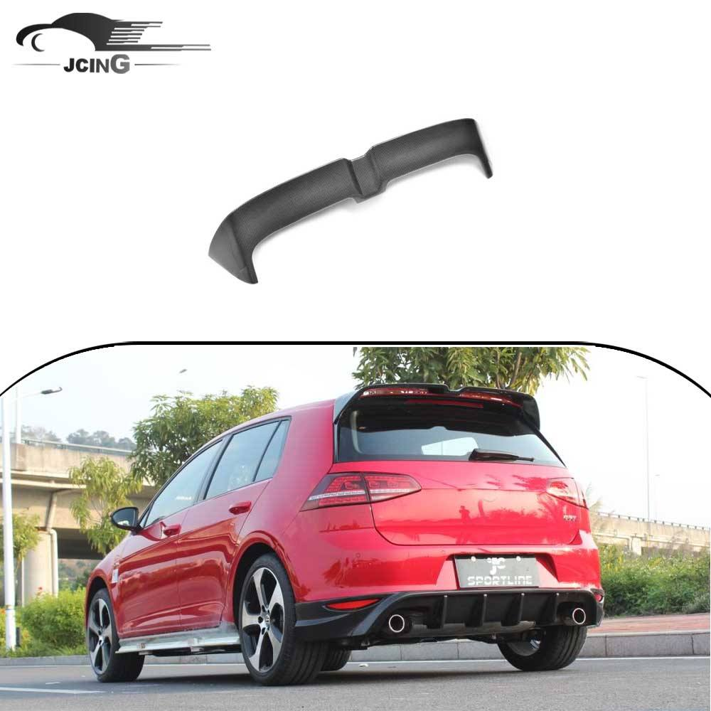 GOLF 7 In Fibra di Carbonio universale spoiler per VW GOLF VII 7 GTI 2014 UP
