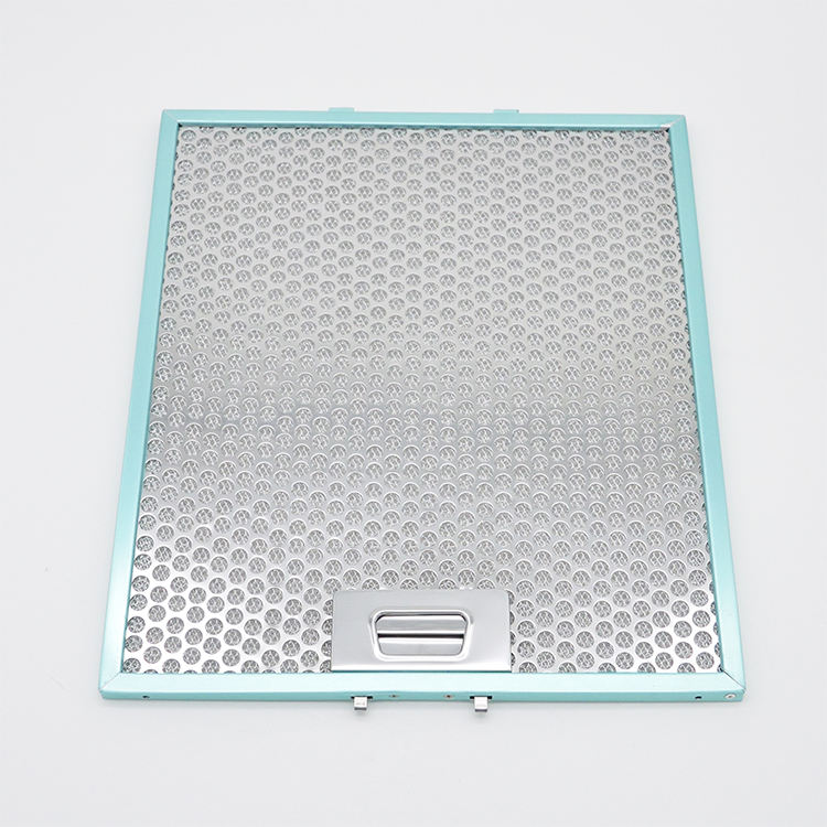 Stainless Steel Round Hole Perforated Metal Mesh Grease Hood Filter For Cooker Hood