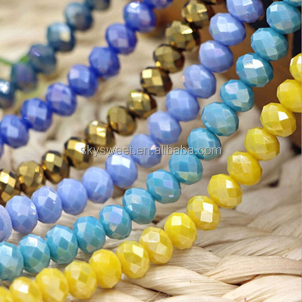Cheap crystal beads for sale in bulk ruby rondelle beads