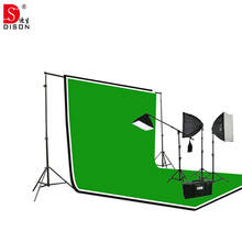 camera accessories lighting softbox light kit high quality with 170w led bulb and backdrop photography