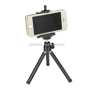 Aluminum Cellphone tripod Light Weight Selfie Stick Mini Camera Tripod