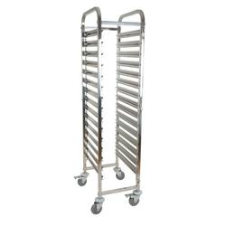 Hotel Restaurant Stainless Steel Pan Bakery Food Rack Trolle