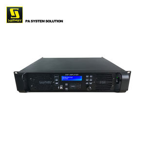 D14 Openbare Adres 14000W Professionele Systeem Stereo Dsp Versterker