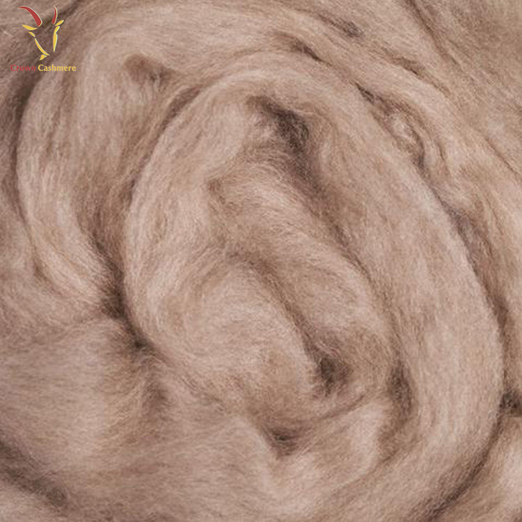 High Quality Combed 100% Cashmere Wool Fiber