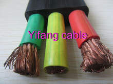 4/0 3/0 2/0 1/0 AWG Flat Rubber submersible cable