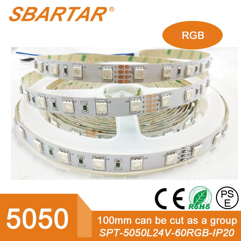 بطارية تعمل التحكم فيها عن بعد أدى ضوء rgb <span class=keywords><strong>نيون</strong></span> قطاع الإضاءة