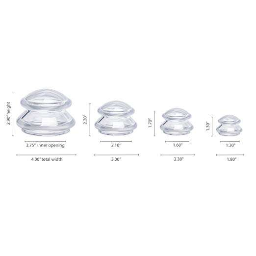 High clear Wholesale Anti Cellulite Cup Silicone Cupping
