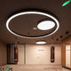 LED Pendant Light Nordic Modern Ring Black Bedroom Dining Room Living Room Bar Single Ring