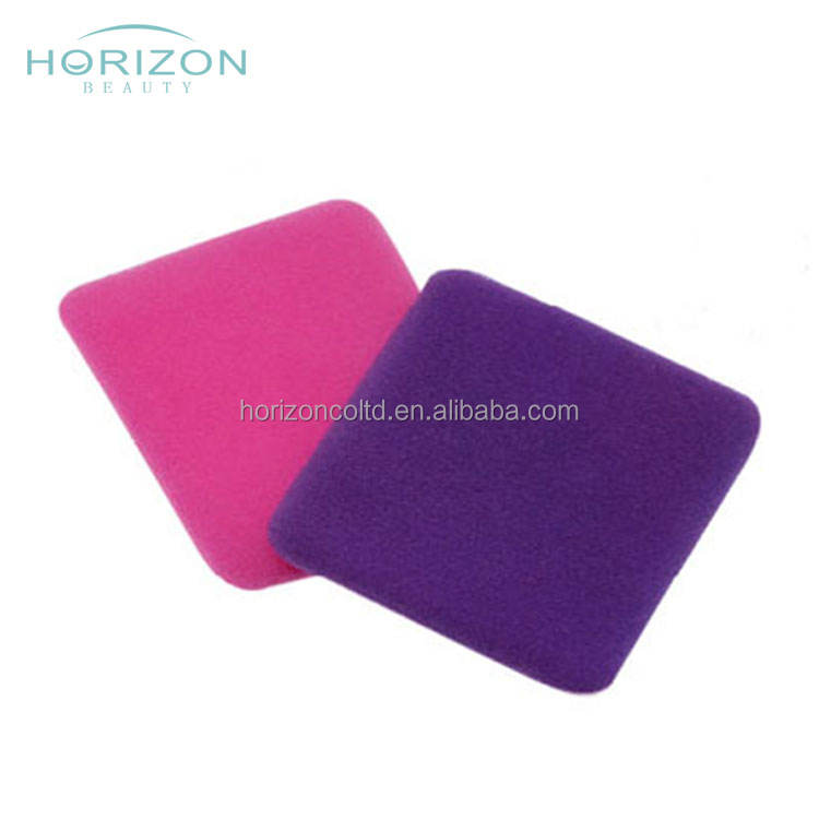 China cheap wholesale cosmetic refillable powder puff with satin for face