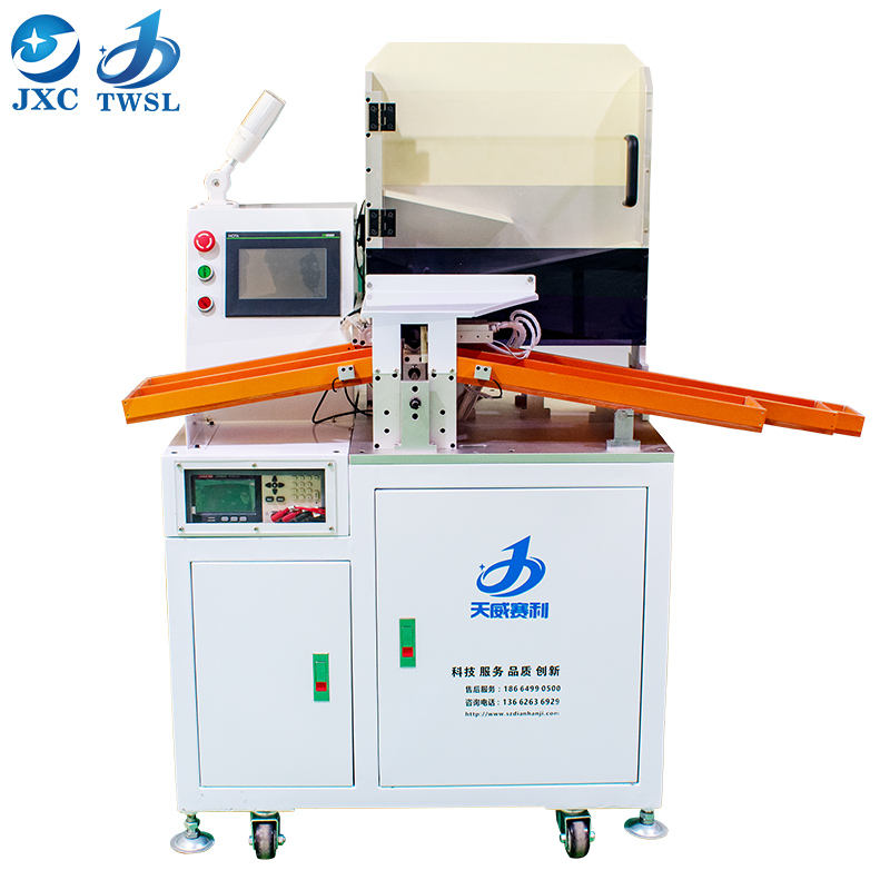 Automatic li ion cell sorting battery tester TWSL-500 5 channels Cylindrical 18650 battery cell sorting machine