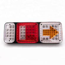 24V Hot selling colorful truck rear lamp led rear light truck tail lights