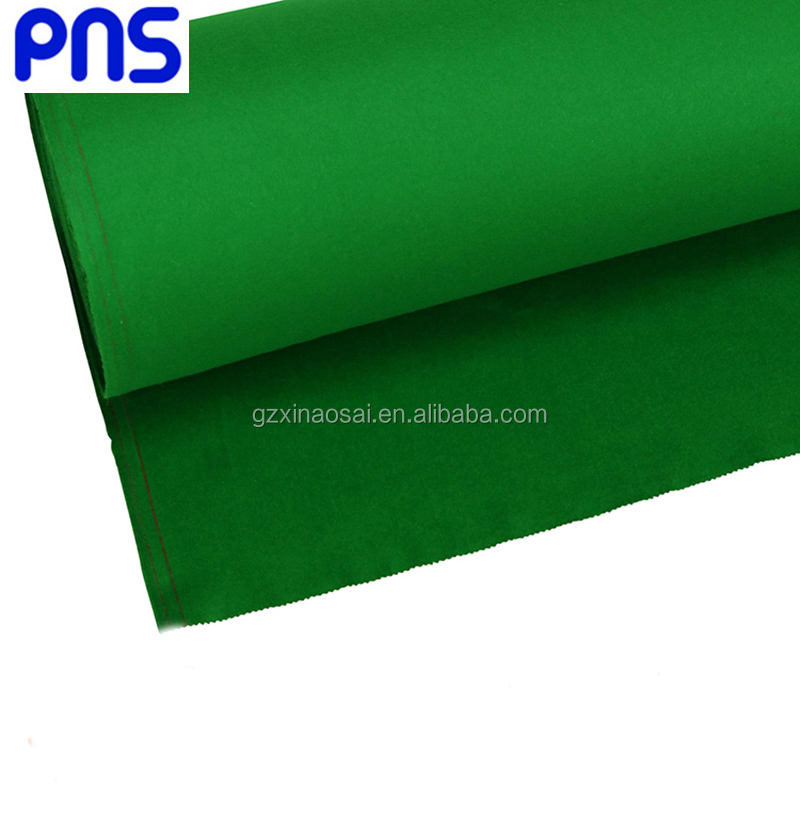 Factory price Chinese black eight cloth PNS 988 and American billiard table cloth