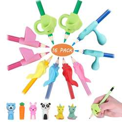 Pencil Grips, JARLINK Pencil Grips for Kids Handwriting Aid