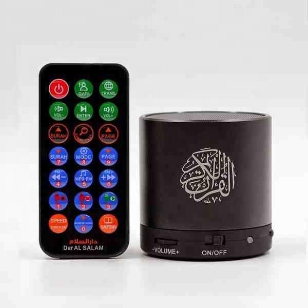 Portable numérique haut-parleur coran coran anglais arabe traduction numérique saint coran haut-parleur mp3 lecteur