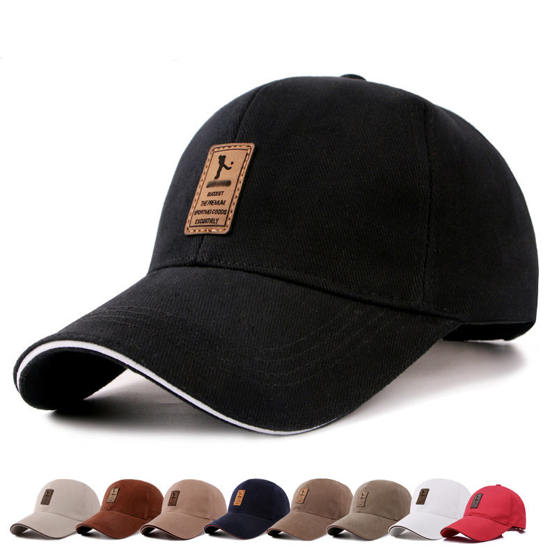 Wholesale Spot Solid Color Casual Cotton Golf Hats Cheap Baseball Caps for Men and Women