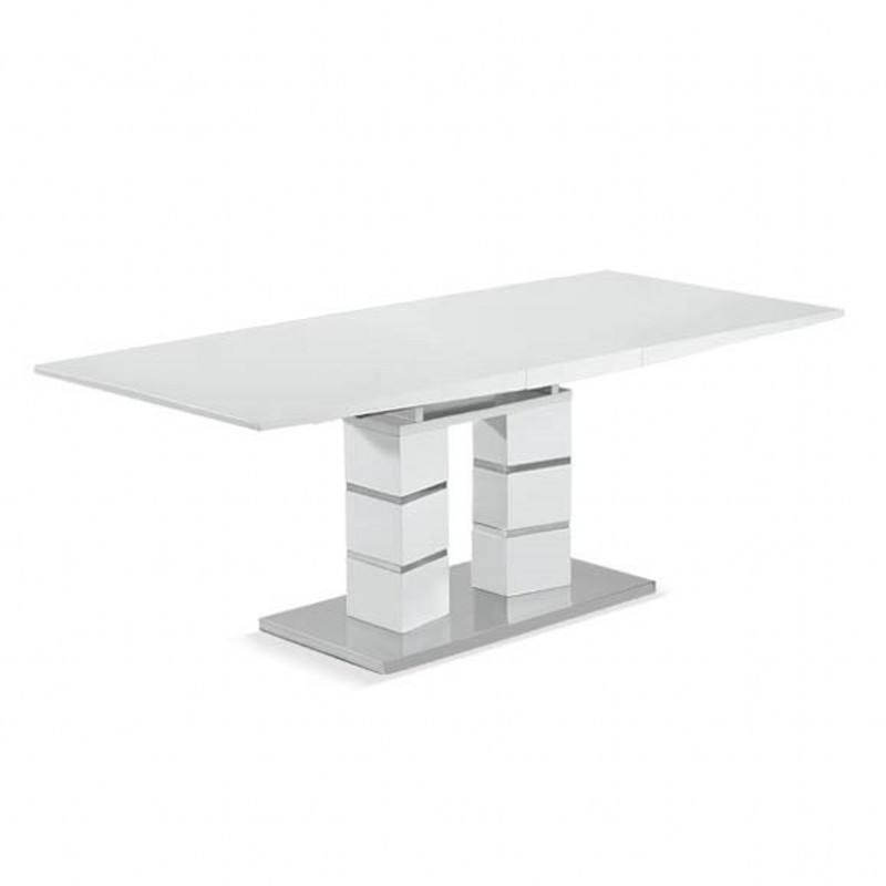 Muebles modernos fungible mesa de comedor para 8 persona comedor MESA DE PARTES