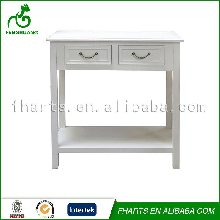 Custom Blanco Provincial Francés Consola