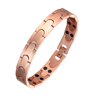 Factory Price Therapy Healthy Pure Copper Bangle Magnetic Bracelet