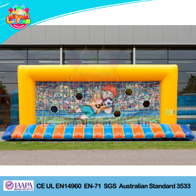 <span class=keywords><strong>Inflatable</strong></span> पोर्टेबल फुटबॉल लक्ष्य