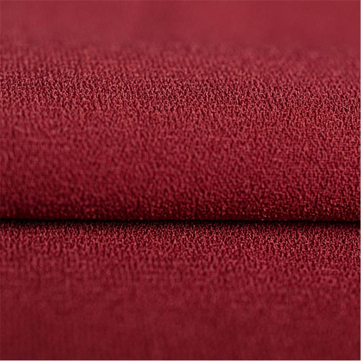 wholesale heavy weight 50D+68D+150D+40D*2 ITY moss crepe fabric