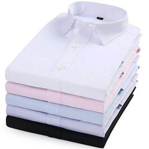 OEM Custom 100% Egyptian Cotton Dobby Long Sleeve Men's Shirt