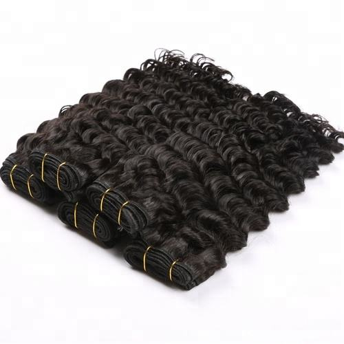 Factory Direct Price 8a 9a 10a Top Quality Raw Virgin Unprocessed Brazilian Deep Curly Human Hair Extensions Vendors In China